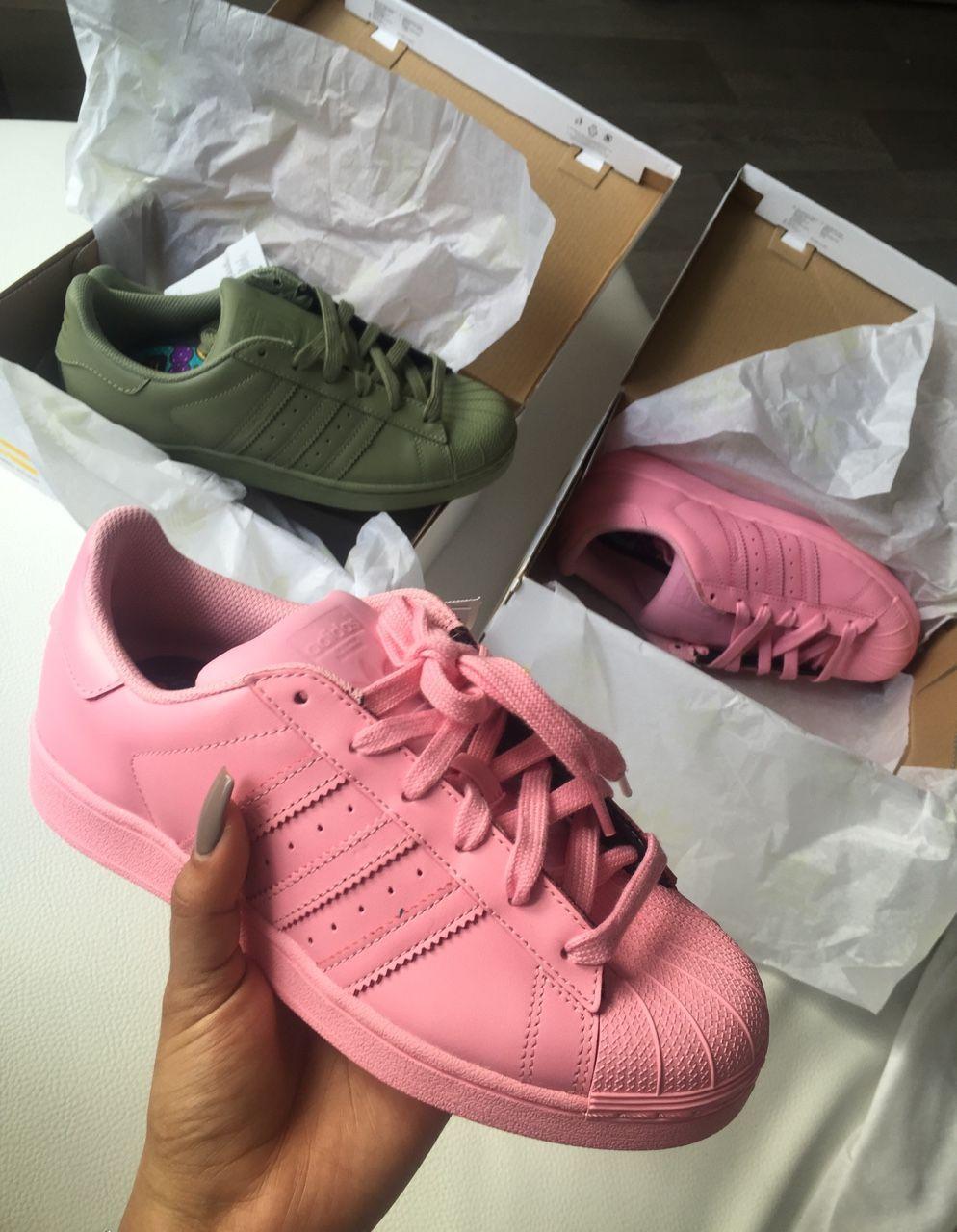 adidas originals superstar scarpe da ginnastica bambino rosa