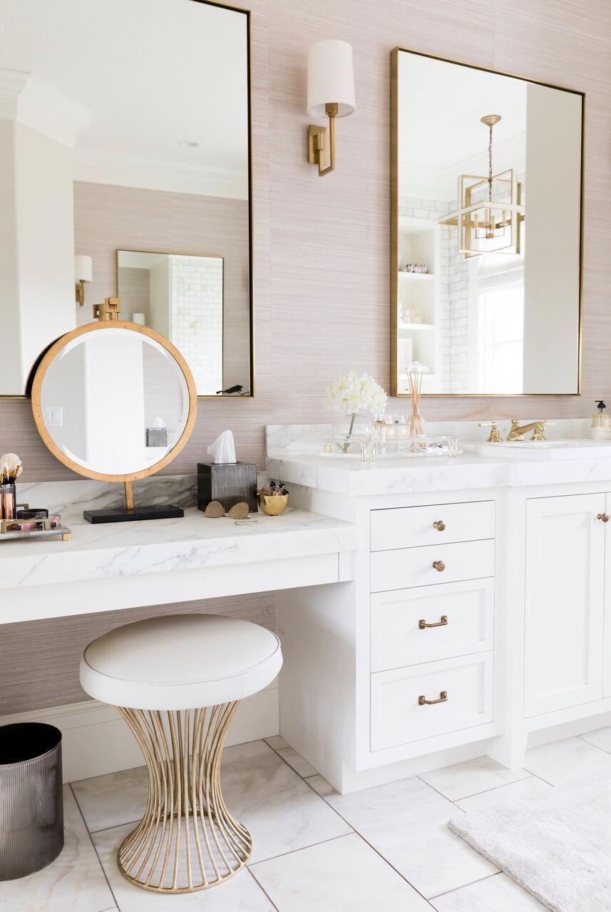 top 10 double bathroom vanity design ideas in 2019 double bathroom rh pinterest com