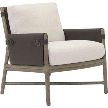 McGuire Furniture: Bercut Lounge Chair: A-115 | McGuire Designs ...