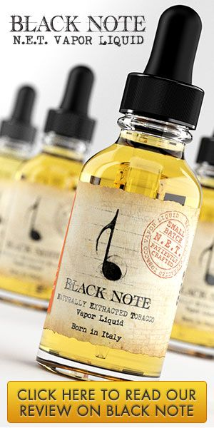 Black Note E-Liquid | DIY projects | Best e cig, Vodka