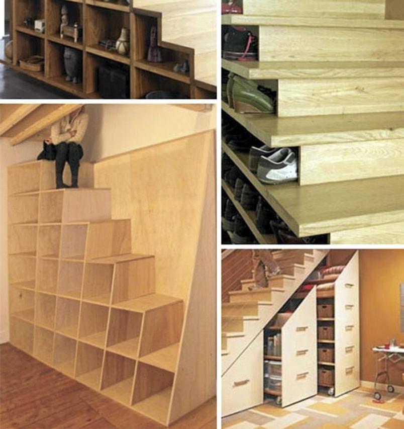 60 Unbelievable Under Stairs Storage Space Solutions: Hva Skal Du Egentlig Med All Den Plassen Under Trappen