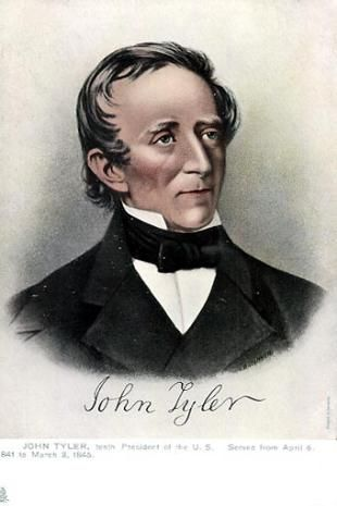 John Tyler March January Was The Tenth - Wiki us presidents