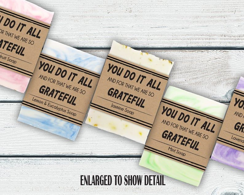 Bulk Appreciation Gift For Employees Thank You Soap Gifts