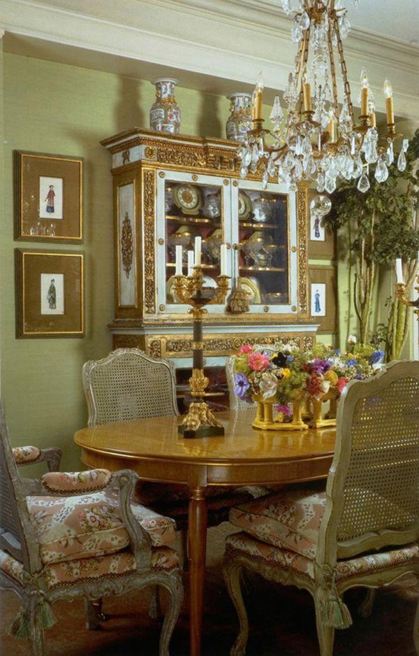 Dining room William R Eubanks Interior Design Inc Decoracion