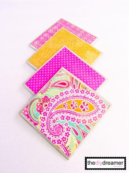 Tile Coasters!!!