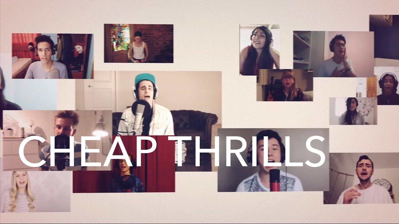 2000 Voices Sing - Cheap Thrills - Sia  [Acapella]: A beautiful collaboration of different voices and personalities