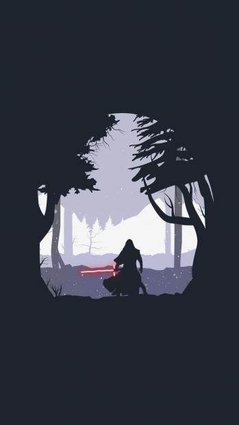Minimalist Star Wars Iphone Wallpaper The Force Unleashed Kylo Ren Star Wars Wallpaper Star Wars Wallpaper Iphone Star Wars Art