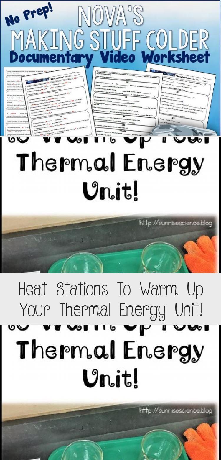 My Blog En Blog Thermal Energy Thermal Energy Transfer Science Education