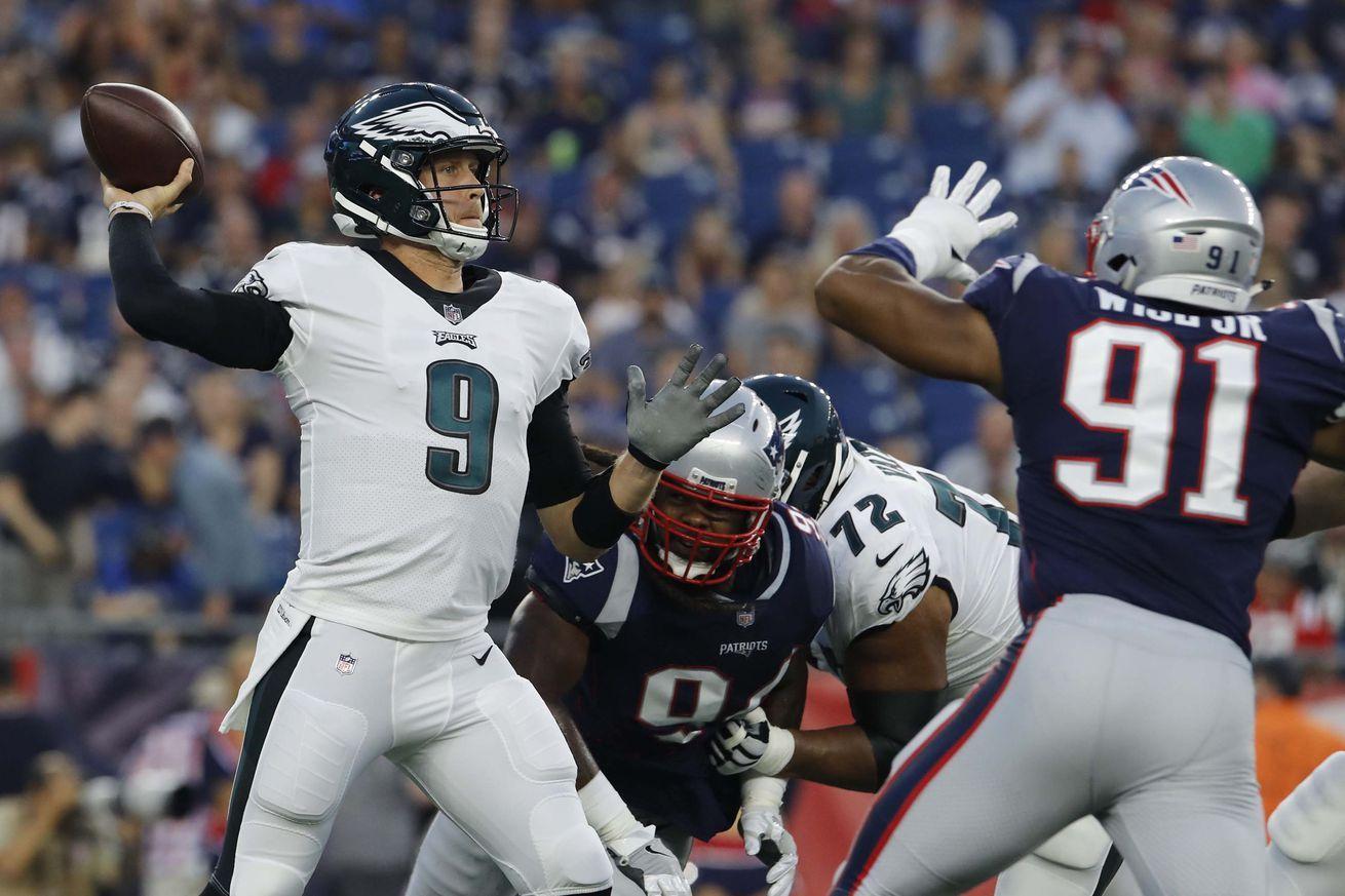 Will the Eagles get Super Bowl MVP Nick Foles or preseason
