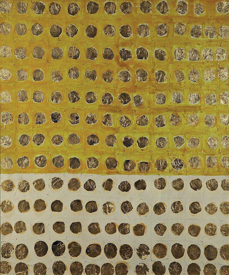 Liven Your Walls Paintings Tierra Este: Colin-vian: €� Remo Bianco (1922-1988) Tableau Doré, 1958