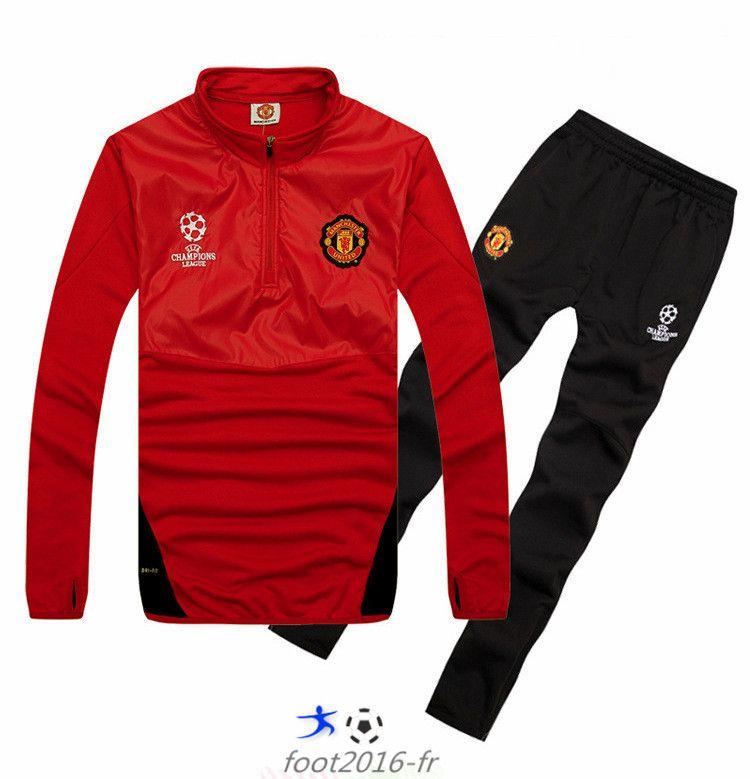 survetement Manchester United ÉQUIPE