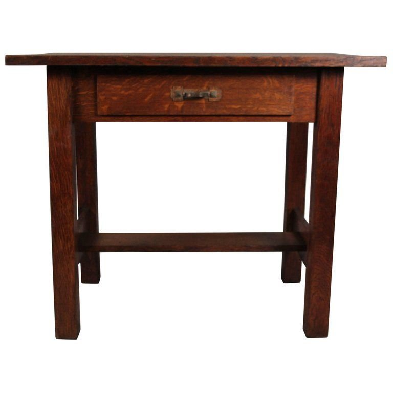 Arts Crafts Side Table Circa 1910 Side Table Table Vintage