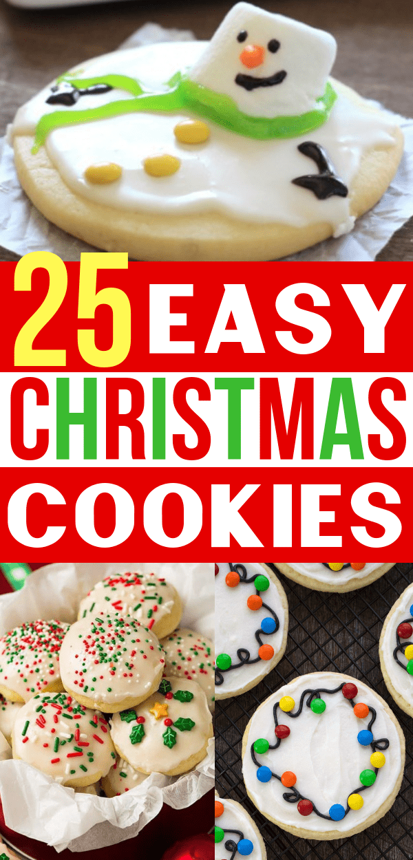 25 Easy Christmas Cookie Recipes To Rock Your Holiday Cookie Exchange