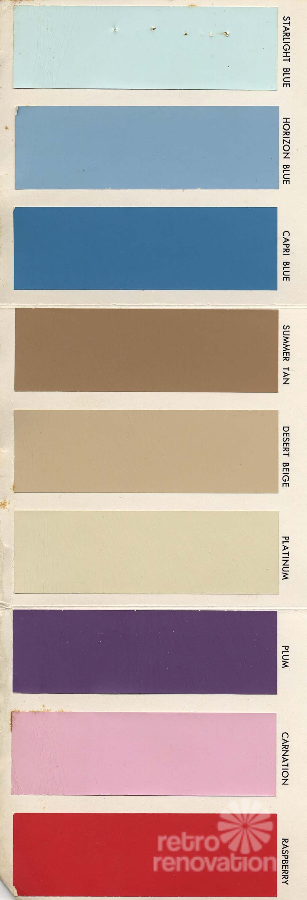 18 Colors For 1960s St Charles Steel Kitchen Cabinets