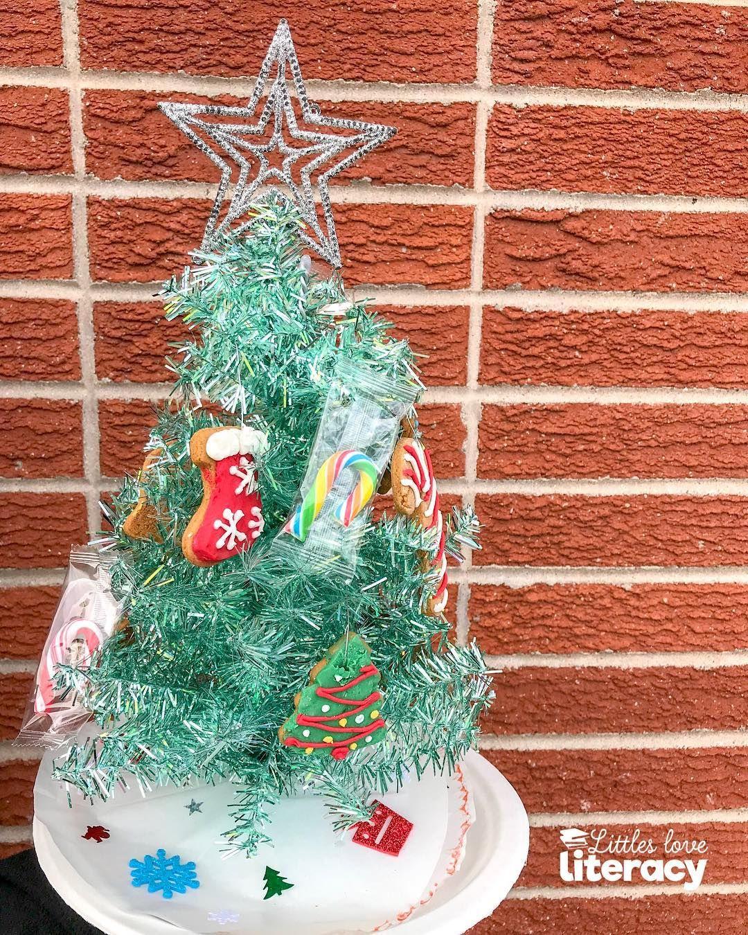 Christmas Cookies Display Christmas Activities For Kids Christmas Literacy Ribbon On Christmas Tree