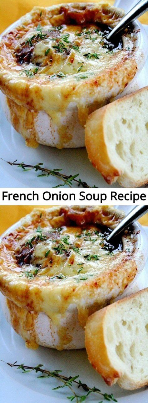 French Onion Soup Recipe  Mom Secret Ingredients Food Recipes Casseroles Food Recipes Homemade