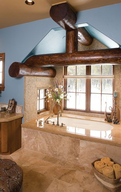 Wow I like the windows in the bath area and that it\u0027s in it\u0027s own