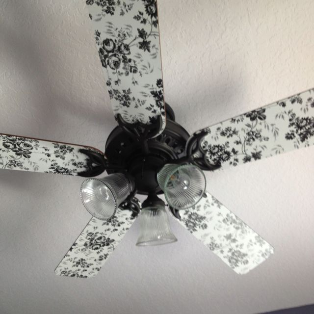 Contact Paper Ceiling Fan With Images