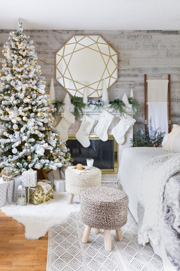 cozy and neutral christmas decor - Neutral Christmas Decor