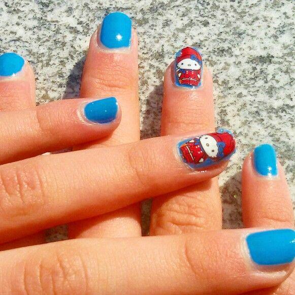 Nail art ispirata a LONDRA   ❤ ❤ ❤ ❤ ❤ ❤ ❤ ❤ ❤ ❤