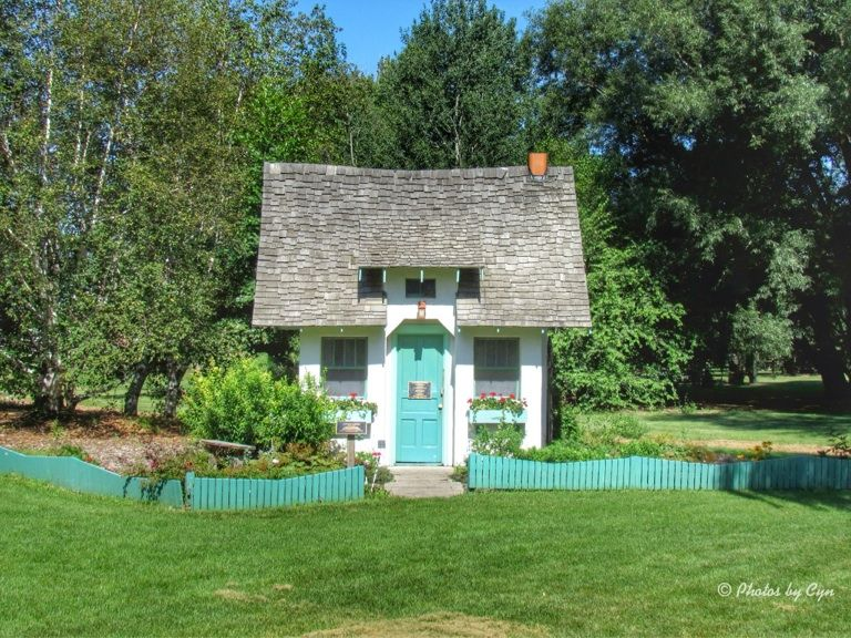 Little Cottage at McCrory Gardens in Brookings, SD...Photo by Cyn ...