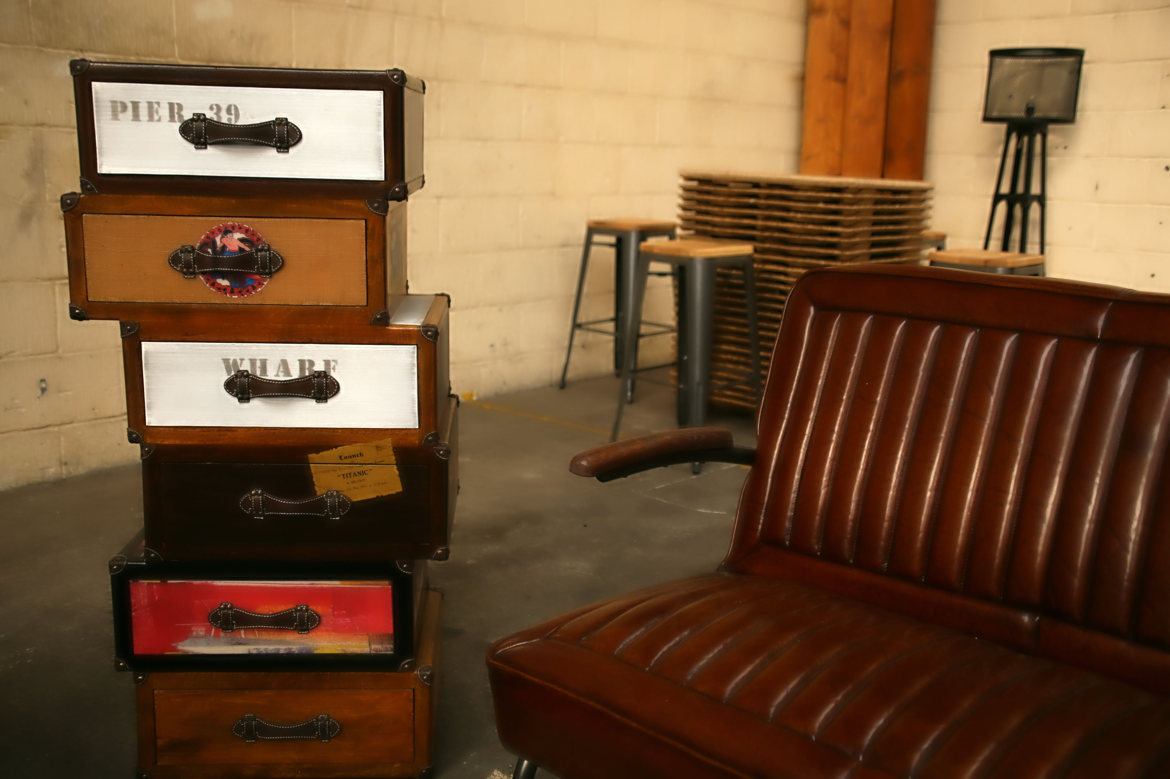 Our New Vintage Chest Table Comes In Two Different Heights To Suit  # Muebles Titanic