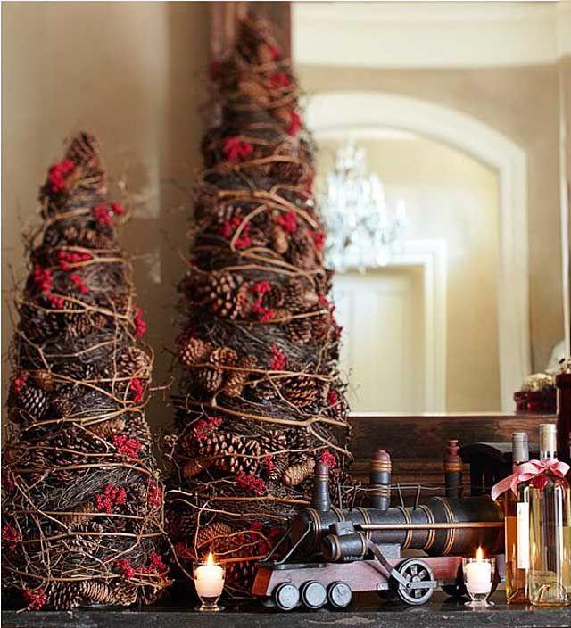 Arboles de navidad decorados peque os y elegantes pi as - Arbol navidad pequeno ...