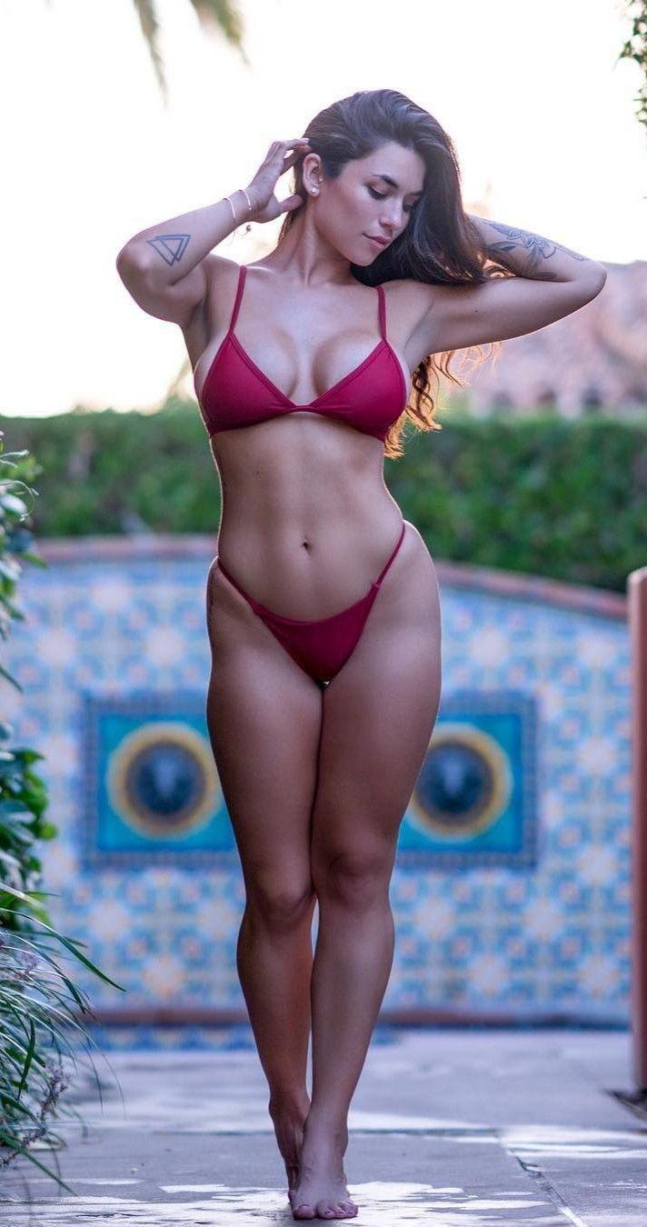 Sexy bikini models stripping