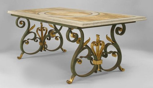 Wrought Iron Table Manufacturer Service Provider Supplier