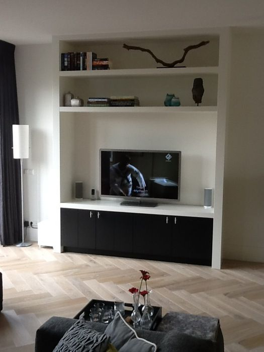 Rhijnart Keukens Tv Cabinets Woonkamer Ideeen Zwarte