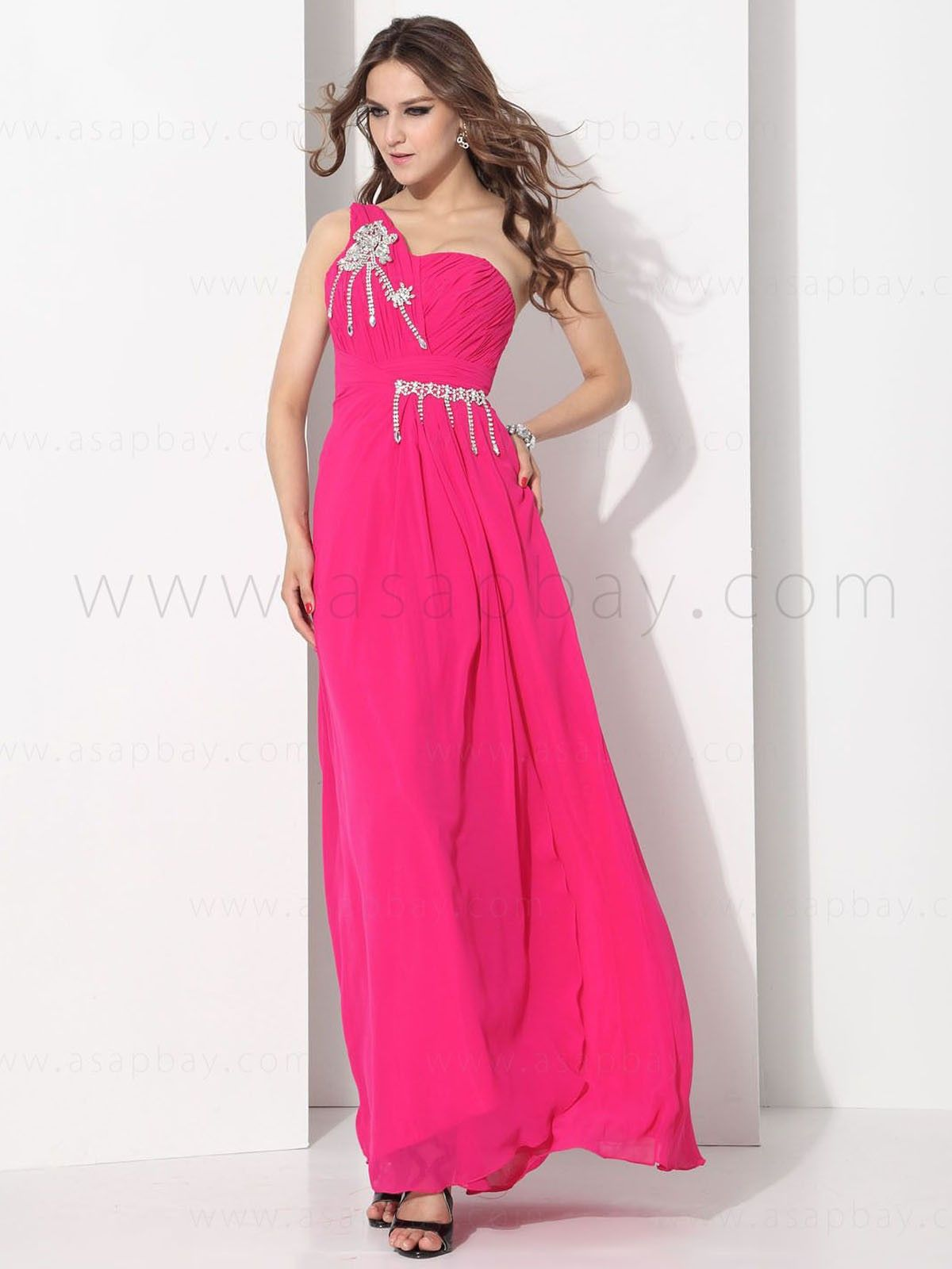 Chiffon Pink Christmas Party Dresses Price $125.99 #asapbay ...