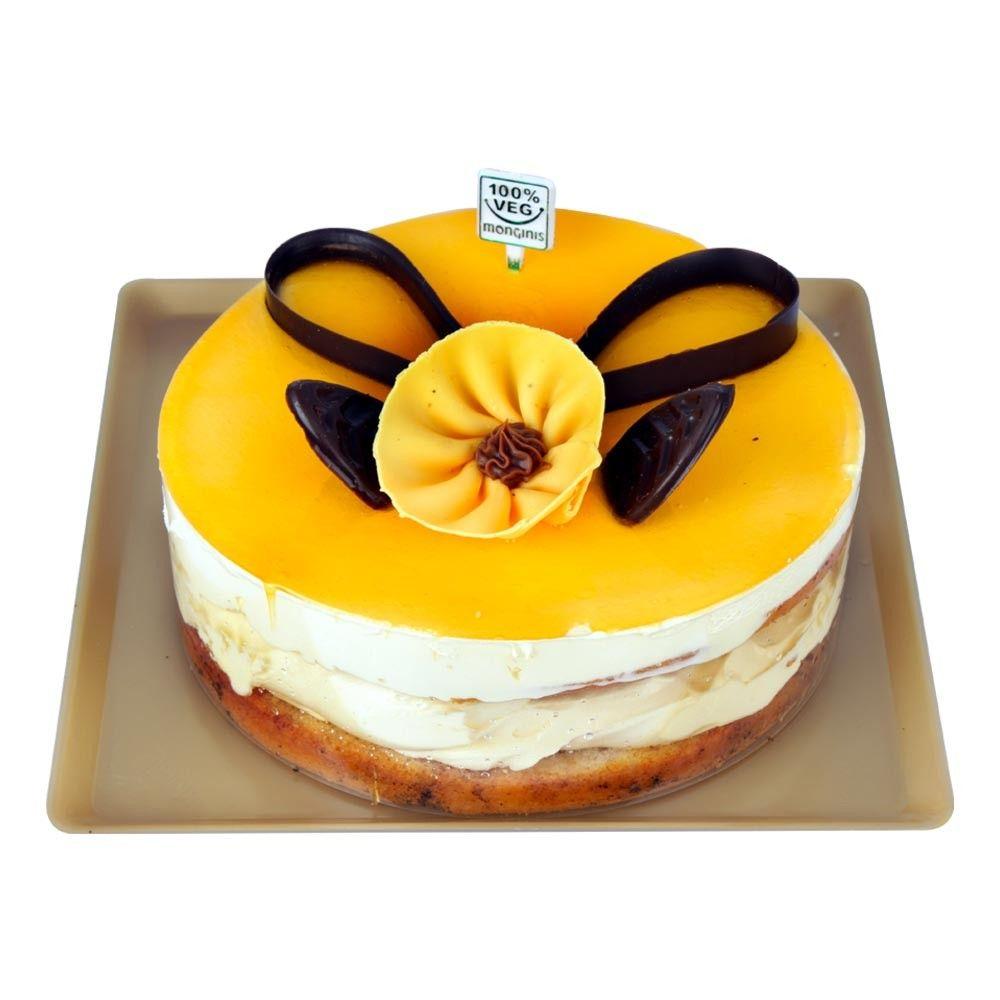 Buy Egglessmangomoussecake At Monginis Cake Shop Be The First To