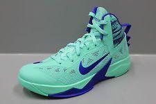Cumbre Dialecto radioactividad  Nike Zoom Hyperfuse 2013 Green Glow Royal Blue men basketball shoes /  615896-301 | Dream shoes, Nike shoes outlet, Nike basketball shoes