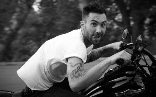 Adam Levine motorcycle | adam levine # motorcycle