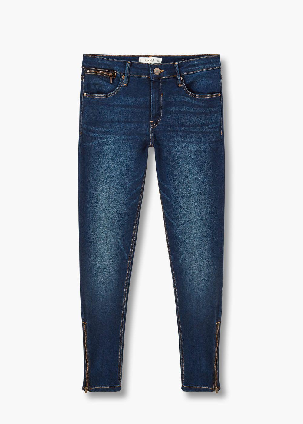 Jeans slim tattoo | MANGO
