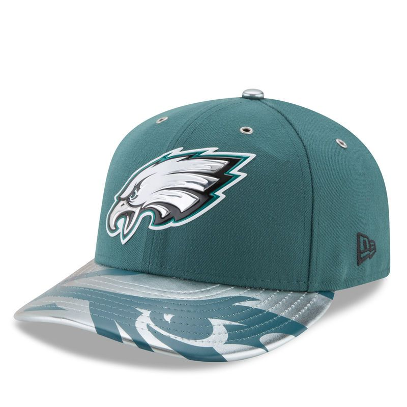 Philadelphia Eagles New Era 2017 NFL Draft Spotlight Low Profile 59FIFTY  Fitted Hat - Green Eagles 1c806ddb6