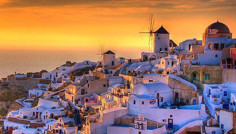Santorini sunset