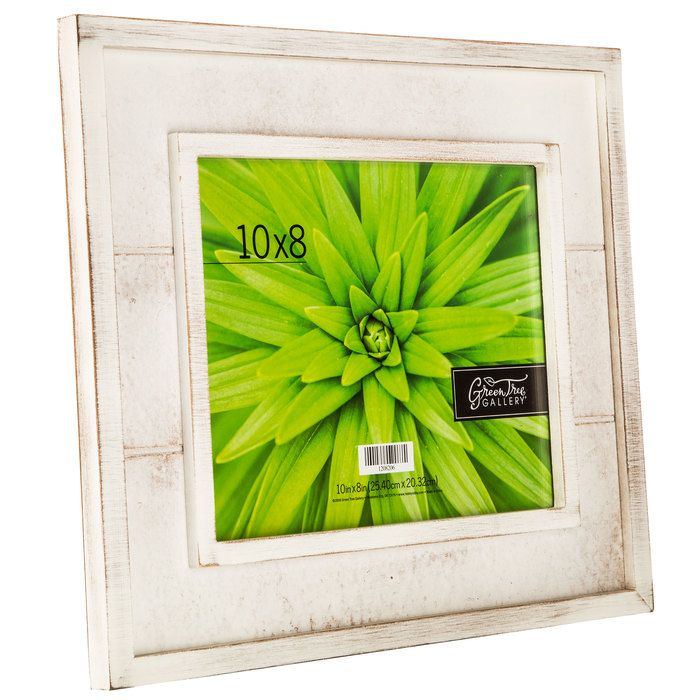 Distressed White Slatted Wood Frame 8 X 10 11 00 Sale Hobby Lobby Frames Wood Frame Distressed White