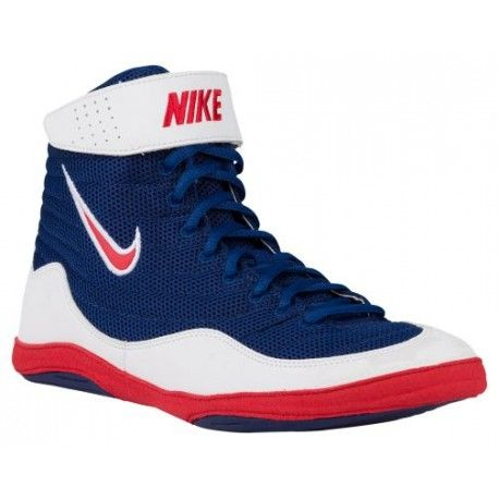 nike inflict 3 wrestling shoes,Nike Inflict 3 - Men's - Wrestling - Shoes - Deep  Royal/University Red/White-sku:25256461