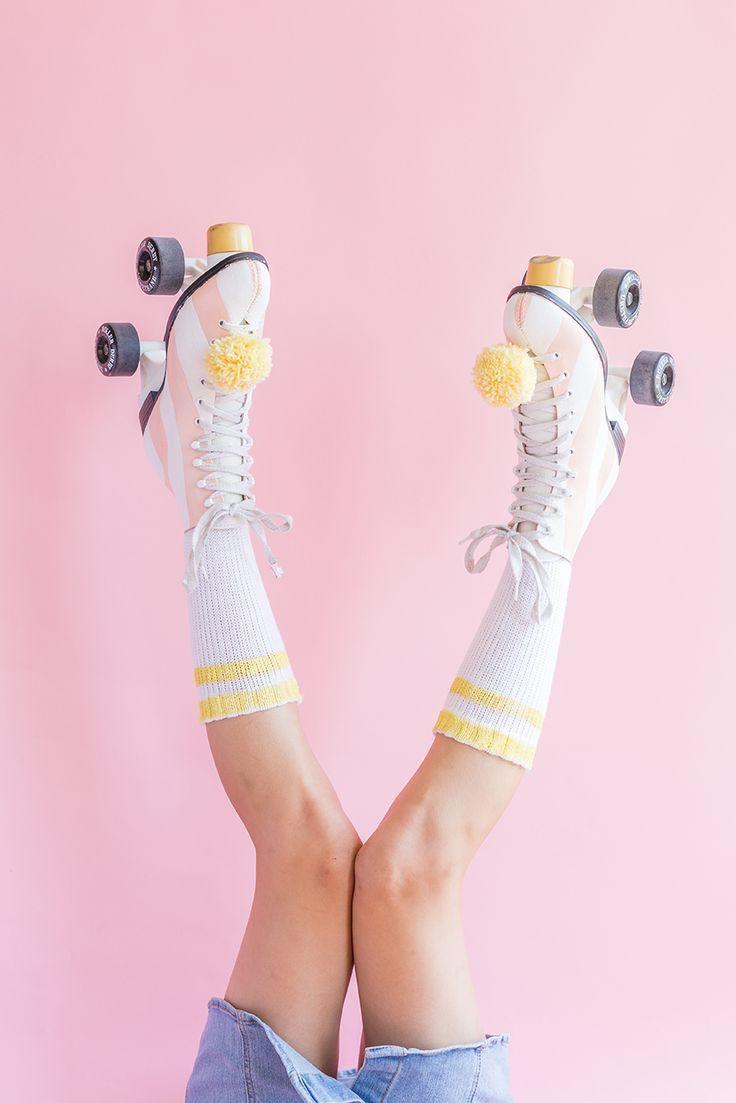 Diy paint your roller skates roller skating skater