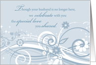 In Remembrance Of Spouse Wedding Anniversary Cards For Widow From Greeting Card Universe Wedding Anniversary Cards Cards Anniversary Cards