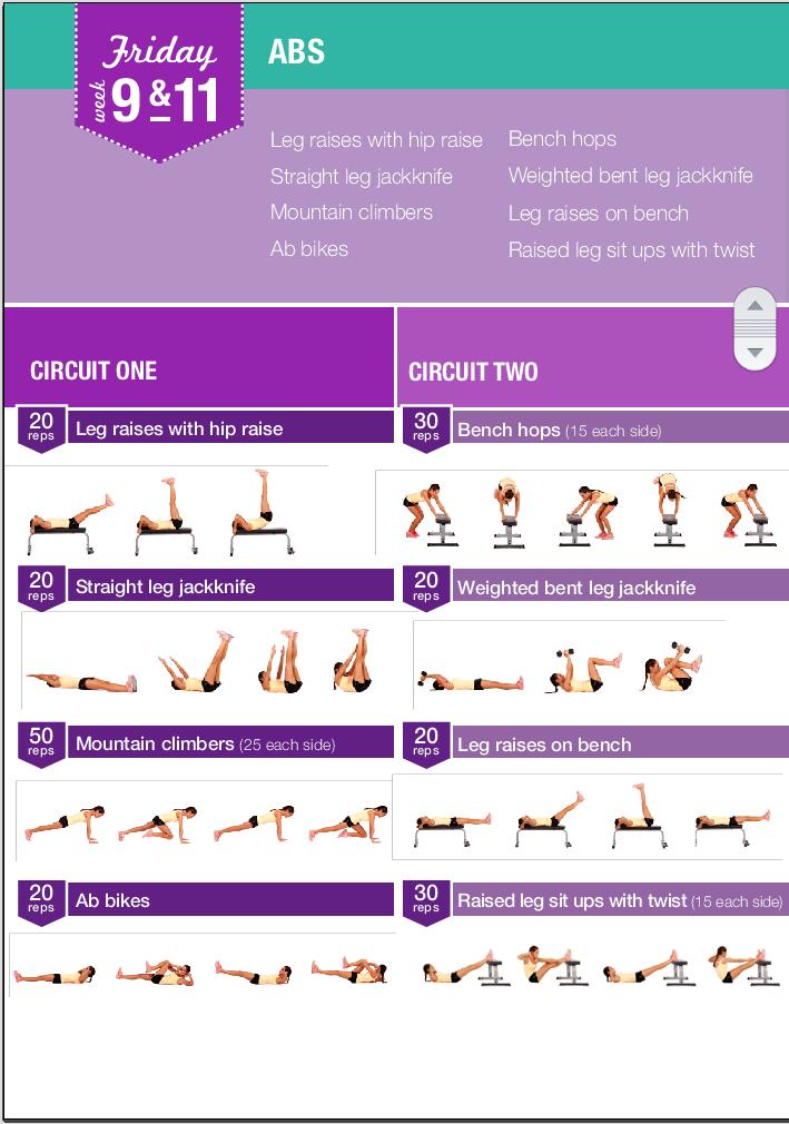 bikini body training guide free download