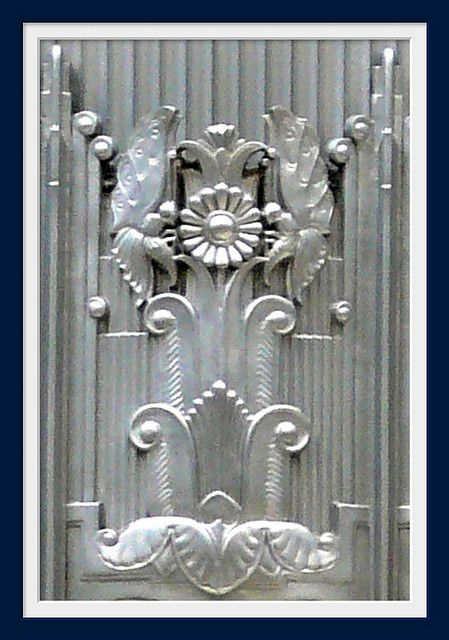 Art Deco Rosette