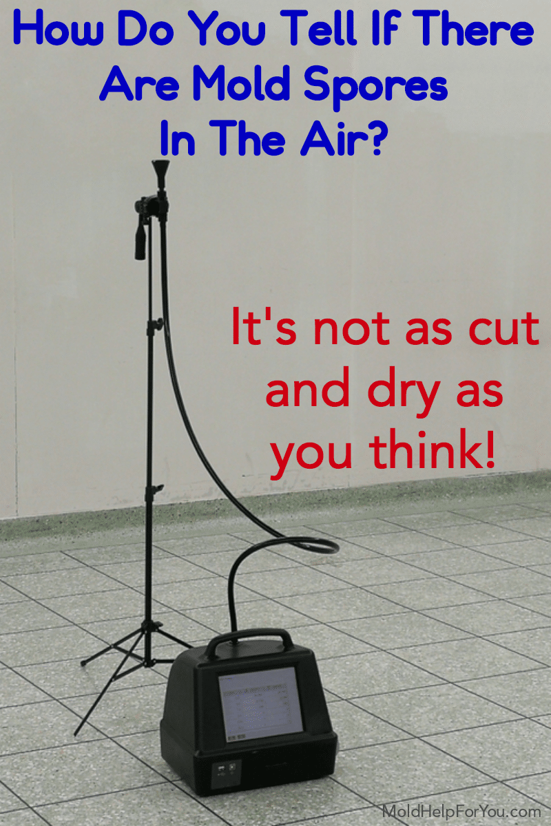 Are you thinking about mold air testing? Not sure which