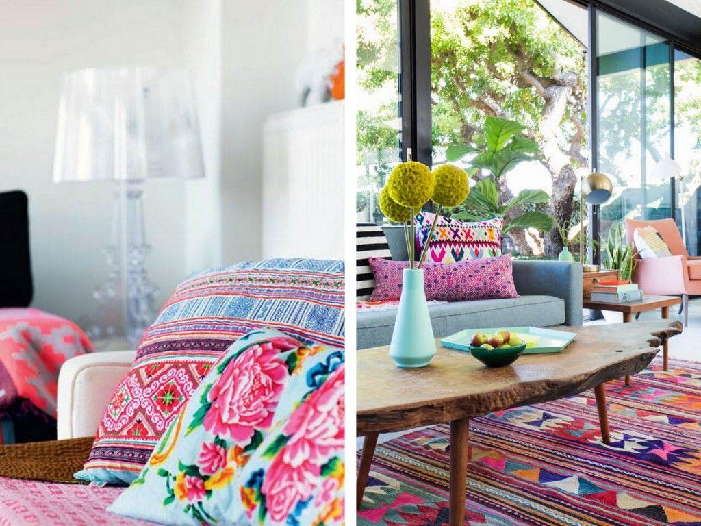 Le bon mix déco : rose, turquoise et indigo | Indigo, Turquoise et ...