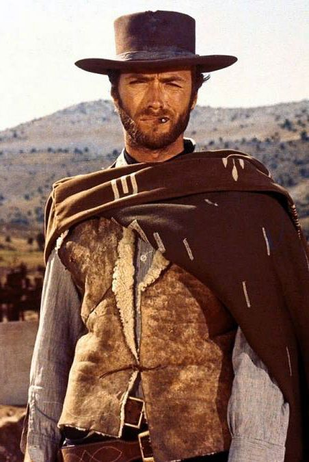 Clint Eastwood as the Man with No Name in the Dollars Trilogy ... 9c45b6fc476