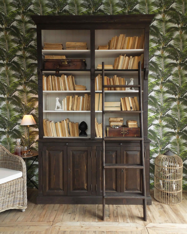 Libreria Legno Milano.Acquista Online La Libreria Con Scala Midtown Park Di