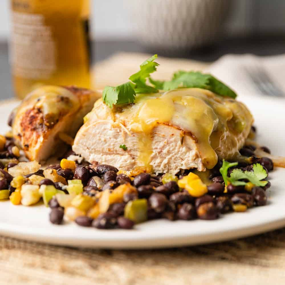 Santa Fe Chicken Is An Easy Way To Add A Taste Of The Southwest To Your Dinner You Can Make This Zesty Santa Fe Chicken Chicken Recipes Baked Chicken Recipes