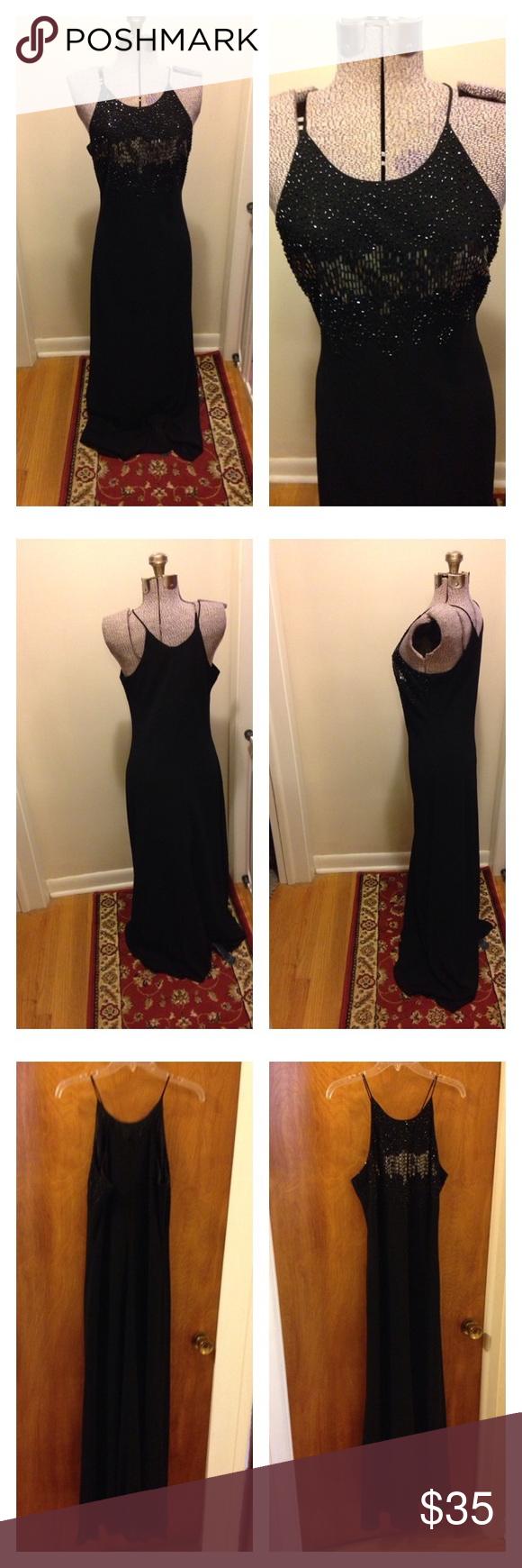 Cachet Long Black Dress Size 12 Long Black Dress Cachet Dress Clothes Design [ 1740 x 580 Pixel ]