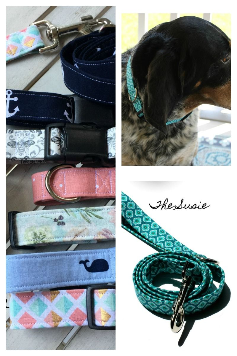 New Summer Fabrics Are In On These Handmade Dog Collars And Dog